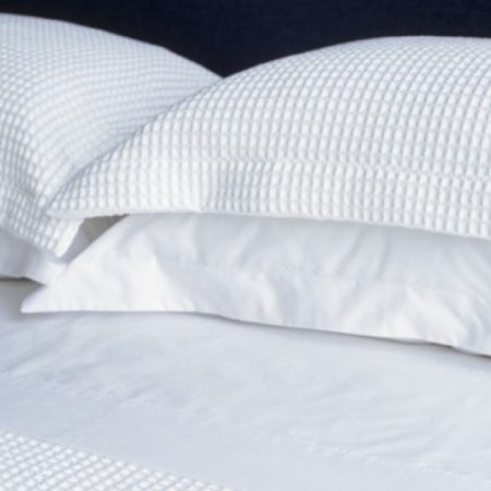 White Waffle Oxford Pillow Cases (Pair)